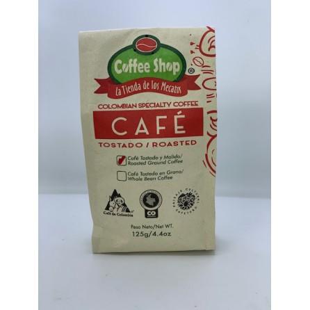 CAFÉ ESPECIAL Coffee Shop La Tienda de los Mecatos X 125 GRS