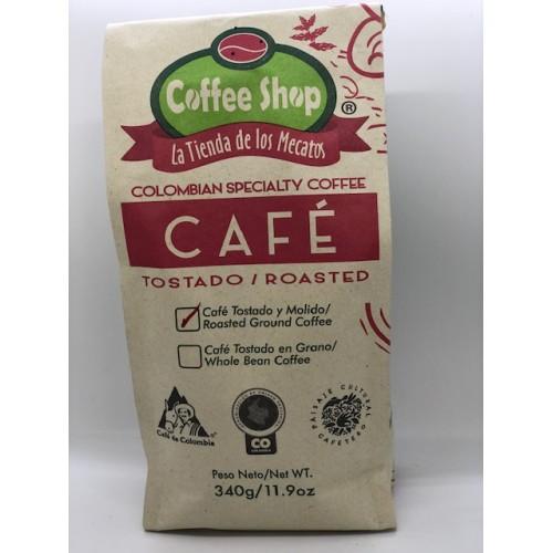 CAFÉ ESPECIAL Coffee Shop La Tienda de los Mecatos X 340 GRS